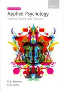Applied Psychology 2nd Edition 9780199235919 0199235910