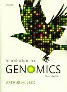 Introduction to Genomics 2nd Edition 9780199564354 0199564353