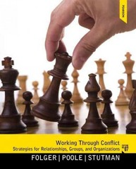Working through Conflict 7th Edition 9780205078431 0205078435