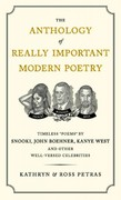 The Anthology of Really Important Modern Poetry 0 9780761167822 076116782X