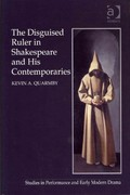 The Disguised Ruler in Shakespeare and his Contemporaries 1st Edition 9781317035565 1317035569