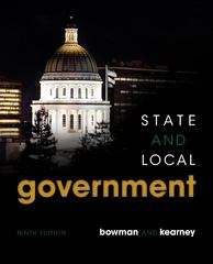 State and Local Government 9th edition 9781285653259 1285653254