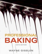 Professional Baking 6th Edition 9781118254363 1118254368