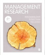Management Research 4th Edition 9780857021175 0857021176