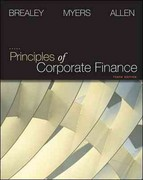 Principles of Corporate Finance + Connect Plus 10th edition 9780077606787 0077606787