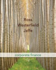 Corporate Finance + Connect Plus 9th edition 9780077606794 0077606795