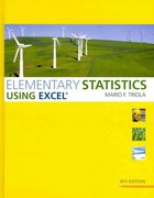 Elementary Statistics Using Excel plus MyStatLab Student Access Kit 4th edition 9780321824493 0321824490