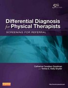 Differential Diagnosis for Physical Therapists 5th Edition 9781437725438 1437725430