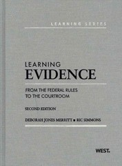 Learning Evidence 2nd Edition 9780314275400 0314275401