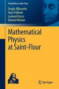 Mathematical Physics at Saint-Flour 0 9783642259555 3642259553