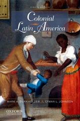 Colonial Latin America 8th edition 9780199865888 0199865884