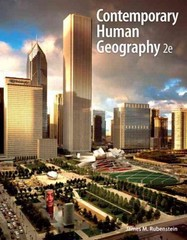 Contemporary Human Geography 2nd Edition 9780321811127 0321811127
