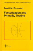 Factorization and Primality Testing 1st edition 9780387970400 0387970401