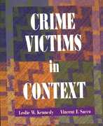 Crime Victims in Context 0 9780195329773 0195329775