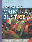 Essentials of Criminal Justice (with InfoTrac) 4th edition 9780534616410 0534616410