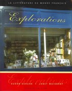 Explorations: La litterature du monde français (Book Only) 4th Edition 9780838413166 0838413161
