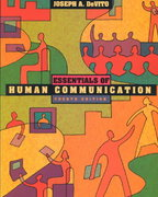 Essentials of Human Communication 4th edition 9780321086525 032108652X