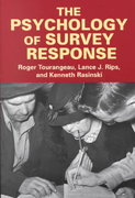 The Psychology of Survey Response 1st edition 9780521576291 0521576296
