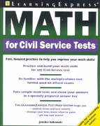 Math for Civil Service Tests 1st edition 9781576854280 1576854280