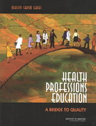 Health Professions Education 1st Edition 9780309087230 0309087236
