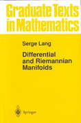 Differential and Riemannian Manifolds 3rd edition 9780387943381 0387943382
