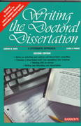 Writing the Doctoral Dissertation 2nd edition 9780812098006 0812098005
