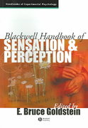 The Blackwell Handbook of Sensation and Perception 1st edition 9780631206842 0631206841
