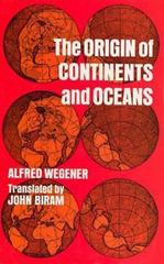 Origin of Continents and Oceans 1st Edition 9780486617084 0486617084