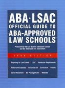 Aba - Lsac Official Guide to Aba-approved Law Schools 2008 0 9780976024590 0976024594