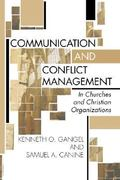 Communication and Conflict Management 1st Edition 9781579109028 1579109020