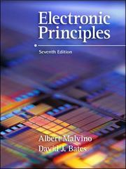 Electronic Principles 7th edition 9780072975277 007297527X
