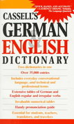 Cassell's German English Dictionary 1st Edition 9780020248507 0020248504