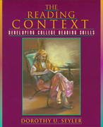The Reading Context 1st edition 9780205185450 0205185452