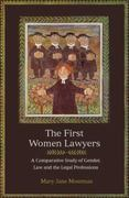 The First Women Lawyers 0 9781841135908 1841135909