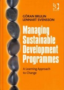 Managing Sustainable Development Programmes 1st Edition 9781317101413 1317101413