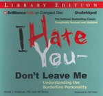 I Hate You - Don't Leave Me 0 9781455880072 1455880078