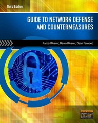 Guide to Network Defense and Countermeasures 3rd Edition 9781133727941 1133727948