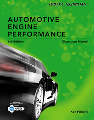 Today's Technician: Automotive Engine Performance, Classroom and Shop Manuals 6th Edition 9781285657509 1285657500