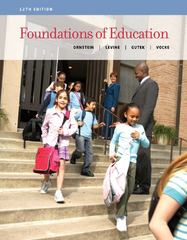 Foundations of Education 12th edition 9781133589853 1133589855