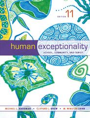 Human Exceptionality 11th edition 9781133589839 1133589839