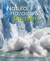 Natural Hazards and Disasters 4th edition 9781133590811 1133590810