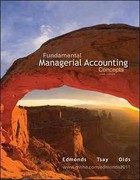 Loose-Leaf Fundamental Managerial Accounting Concepts 6th edition 9780077464097 0077464095