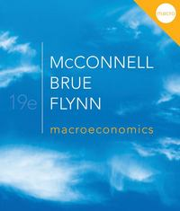 Macroeconomics with Connect Plus 19th edition 9780077503970 007750397X