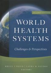 World Health Systems 2nd Edition 9781567934205 156793420X