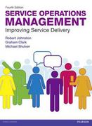 Service Operations Management 4th Edition 9780273740483 0273740482