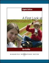 A First Look at Communication Theory 8th Edition 9780071086424 0071086420