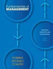 Fundamentals of Management 8th Edition 9780132620536 0132620537
