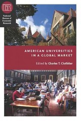 American Universities in a Global Market 0 9780226110479 0226110478