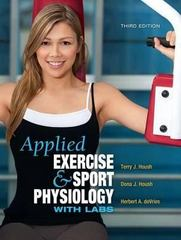 Applied Exercise and Sport Physiology, with Labs 3rd Edition 9781934432198 1934432199