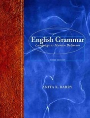 English Grammar 3rd Edition 9780205238460 0205238467